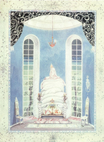 The Princess and The Pea. I do not know what was in my bed by Kay Rasmus Nielsen (1886-1957, Denmark)