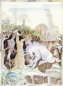 Kay Rasmus Nielsen - The Unicorn (Valiant Little Tailor)