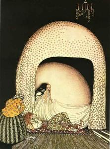 Kay Rasmus Nielsen - This Time She Whisked Off the Wig
