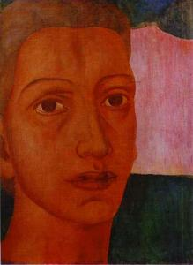 Kuzma Petrov-Vodkin - Head of an Arab