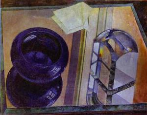 Kuzma Petrov-Vodkin - Still Life with Blue Ashtray