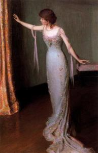 Lilla Cabot Perry - Lady in an Evening Dress