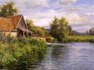 Louis Aston Knight - Cottage by the River
