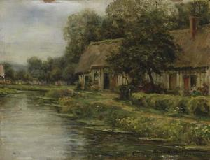 Louis Aston Knight - Cottage in Normandy