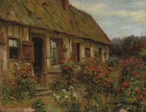 Louis Aston Knight - Cottage in Rancon