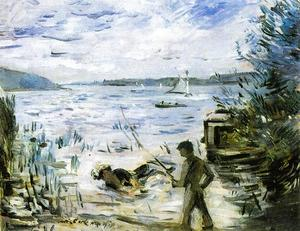Lovis Corinth (Franz Heinrich Louis) - At the Muritzsee