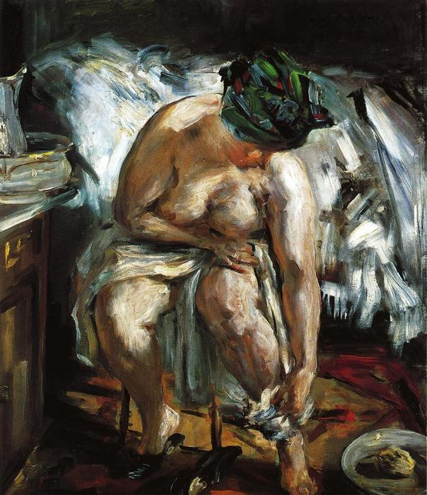 Matinee, Oil On Canvas by Lovis Corinth (Franz Heinrich Louis) (1858-1925, Netherlands)