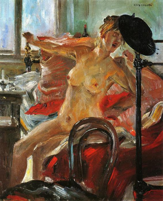 Morning, Oil On Canvas by Lovis Corinth (Franz Heinrich Louis) (1858-1925, Netherlands)
