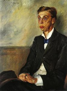 Lovis Corinth (Franz Heinrich Louis) - Portrait of Eduard, Count Keyserling