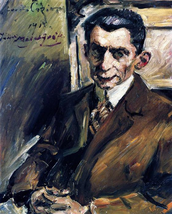 Portrait of Julius Meier-Graefe, Oil On Canvas by Lovis Corinth (Franz Heinrich Louis) (1858-1925, Netherlands)