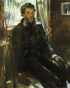 Lovis Corinth (Franz Heinrich Louis) - Portrait of the Artist-s Uncle, Friedrich Corinth
