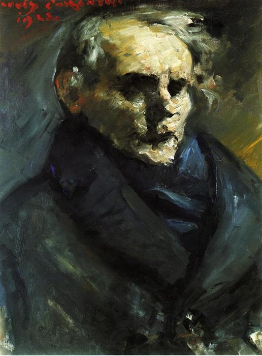 Portrait of the Painter Bernt Gronvold, Oil On Canvas by Lovis Corinth (Franz Heinrich Louis) (1858-1925, Netherlands)