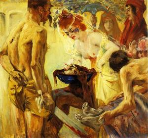 Lovis Corinth (Franz Heinrich Louis) - Salome, First Version