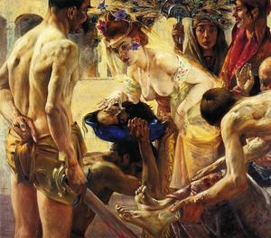 Lovis Corinth (Franz Heinrich Louis) - Salome, Second Version