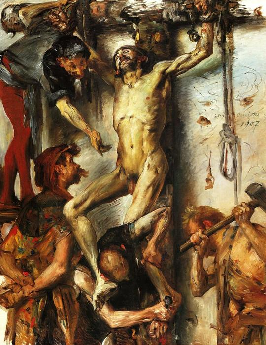 The Large Martyrdom, Oil On Canvas by Lovis Corinth (Franz Heinrich Louis) (1858-1925, Netherlands)