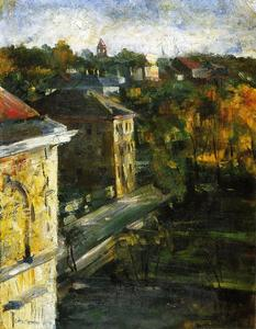Lovis Corinth (Franz Heinrich Louis) - View from the Studio Window
