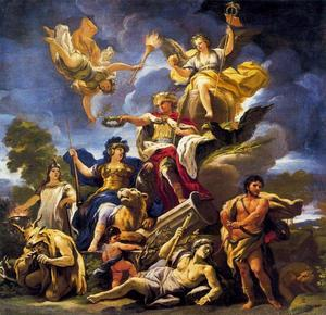 Luca Giordano - Allegory of Fortitude