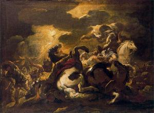 Luca Giordano - Conversion of Saul 1