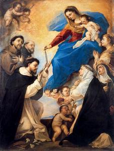 Luca Giordano - Our Lady of the Rosary