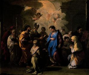 Luca Giordano - The Betrothal of the Virgin