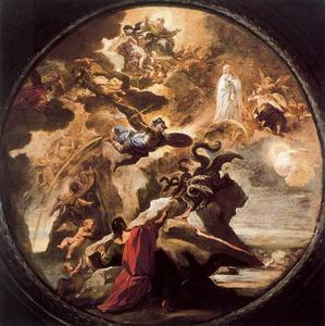 Luca Giordano - Vision of St. John the Evangelist on Patmos