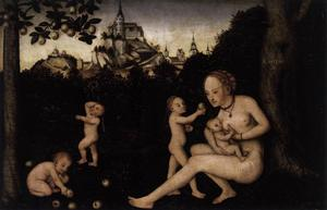Lucas Cranach The Younger - Caritas 1