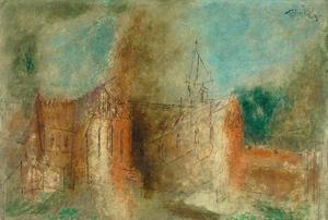 Lyonel Feininger - Cathedral (Cammin)