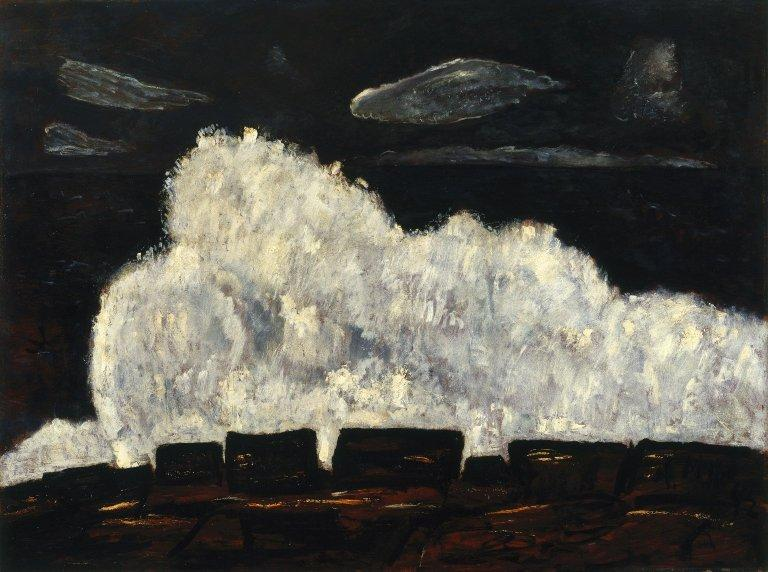 Evening Storm, Schoodic, Maine No. 2 by Marsden Hartley (1877-1943, United States)