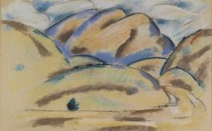Marsden Hartley - Landscape, New Mexico 2