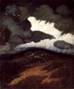 Marsden Hartley - Storm Clouds, Maine
