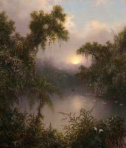 Martin Johnson Heade - South American River