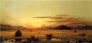 Martin Johnson Heade - Sunrise, Hoboken Meadows