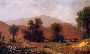 Martin Johnson Heade - White Mountain Landscape, Mount Washington