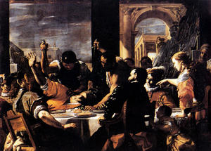 Mattia Preti - The Banquet Of Baldassare