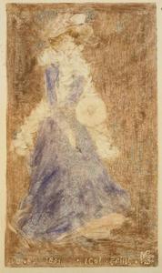Maurice Brazil Prendergast - Lady in Blue