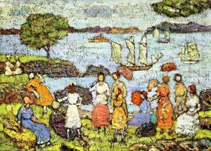 Maurice Brazil Prendergast - Late Afternoon, New England