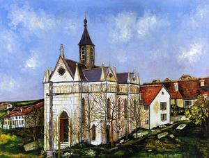 Maurice Utrillo - Buis chapell
