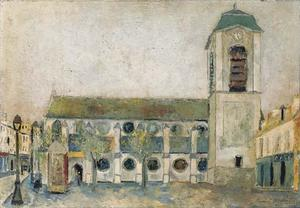Maurice Utrillo - The church