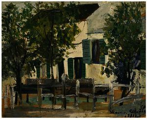 Maurice Utrillo - The Lapin Agile 8
