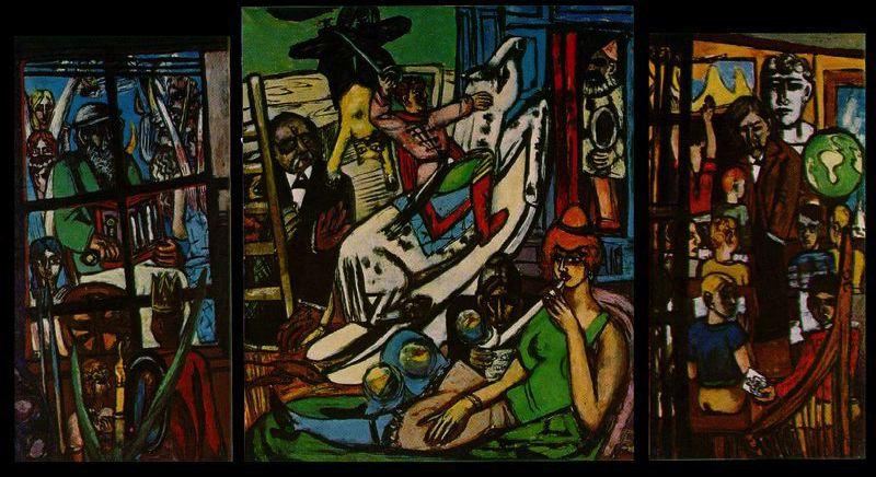 Beginning by Max Beckmann (1884-1950, Germany) | Oil Painting | WahooArt.com