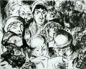 Max Beckmann - Declaration of War