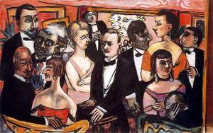 Max Beckmann - Paris Society