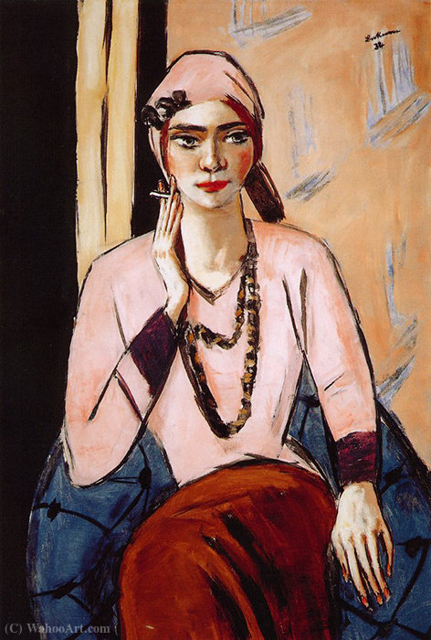 Rose Quappi by Max Beckmann (1884-1950, Germany)