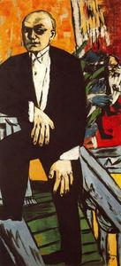 Max Beckmann - Self-Portrait in Tails