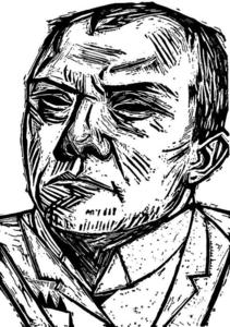 Max Beckmann - Self-portrait