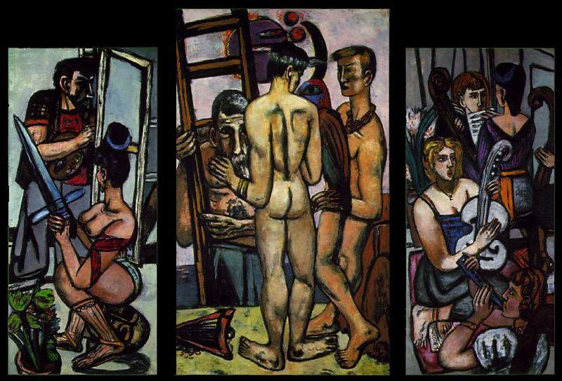 The argonauts, 1950 by Max Beckmann (1884-1950, Germany)