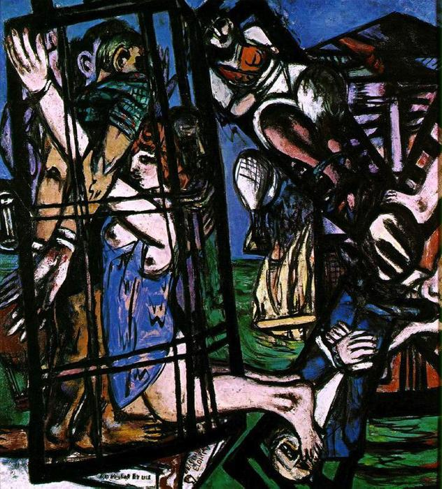The mill, 1947 by Max Beckmann (1884-1950, Germany)