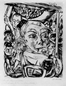 Max Beckmann - The Queen's Bar (Self-Portrait)