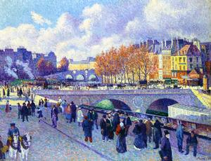 Maximilien Luce - The Seine at Pont Saint-Michel