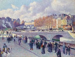 Maximilien Luce - The Seine at the Pont Saint-Michel